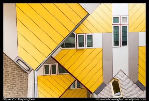 The Netherlands, Rotterdam :: Cube house abstract