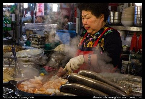South Korea, Seoul :: Gwangjang market street food